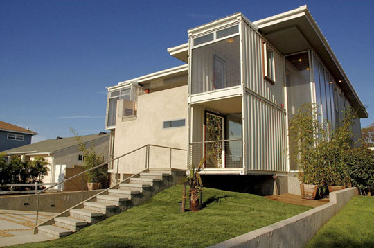 Container - Wel designed shipping container homes for life inside the box ...